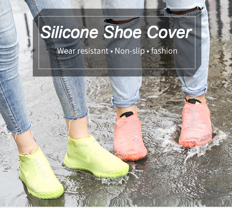 Non Slip Waterproof Shoe Covers For Walking, Rain Shoe Covers Wholesale