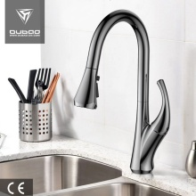 Modern Brushed Nickel Kitchen Tap Faucets With Sprayer