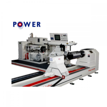 Cylindrical Rubber Roller Twisting Machine PTM-1080