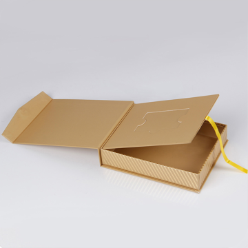 Rectangle Shape Boxes With Ribbon Tie For Clothing