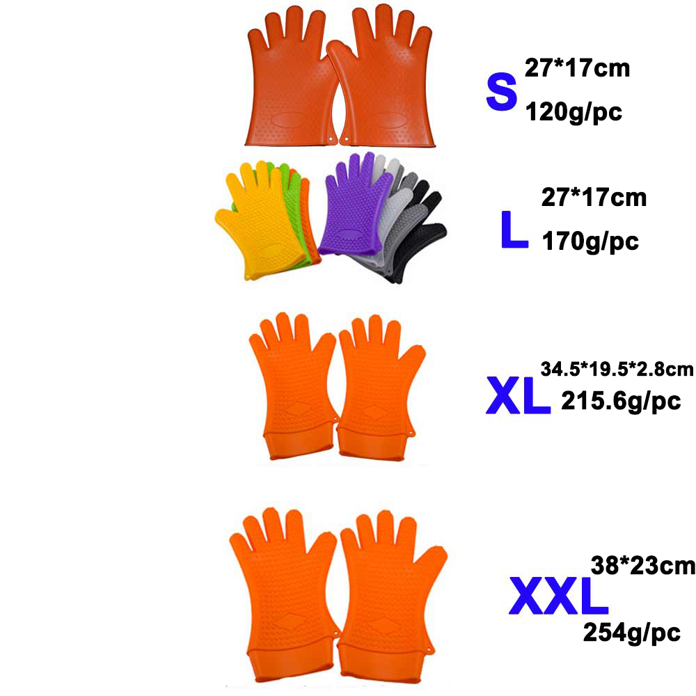 Silicone Gloves With Finger