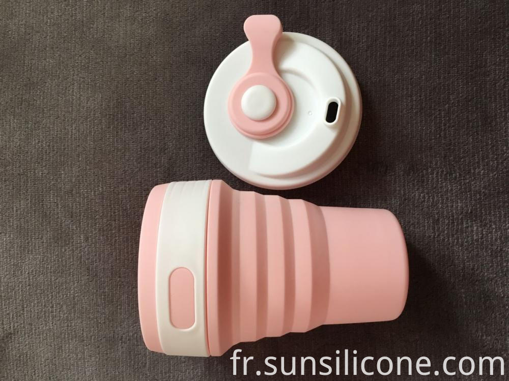 Folding Cup With Lid