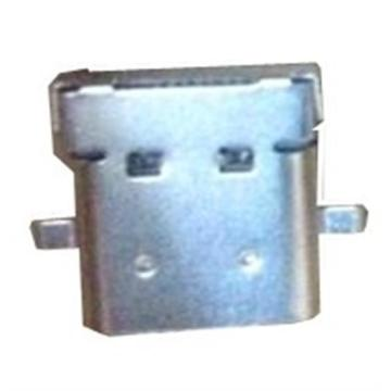 USB3.1 Receptacle C Type Shell+Contacts through hole
