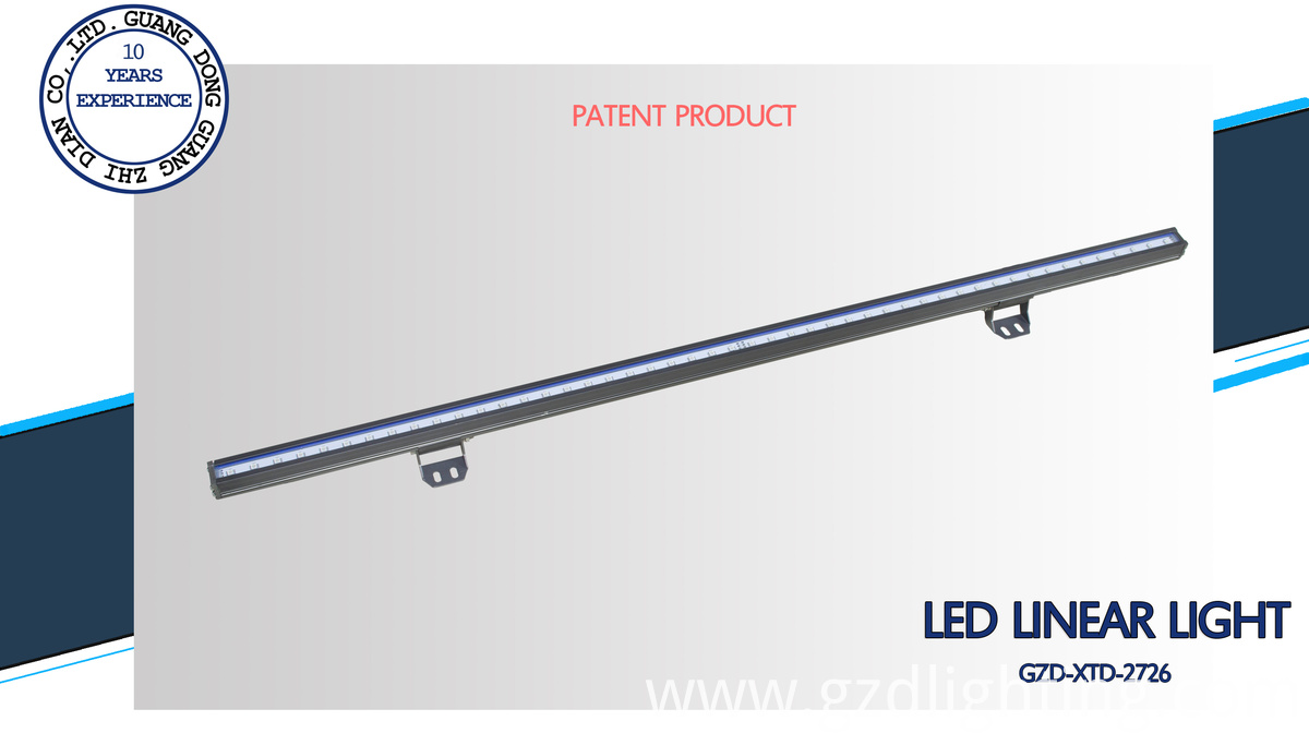 pure aluminum led linear light