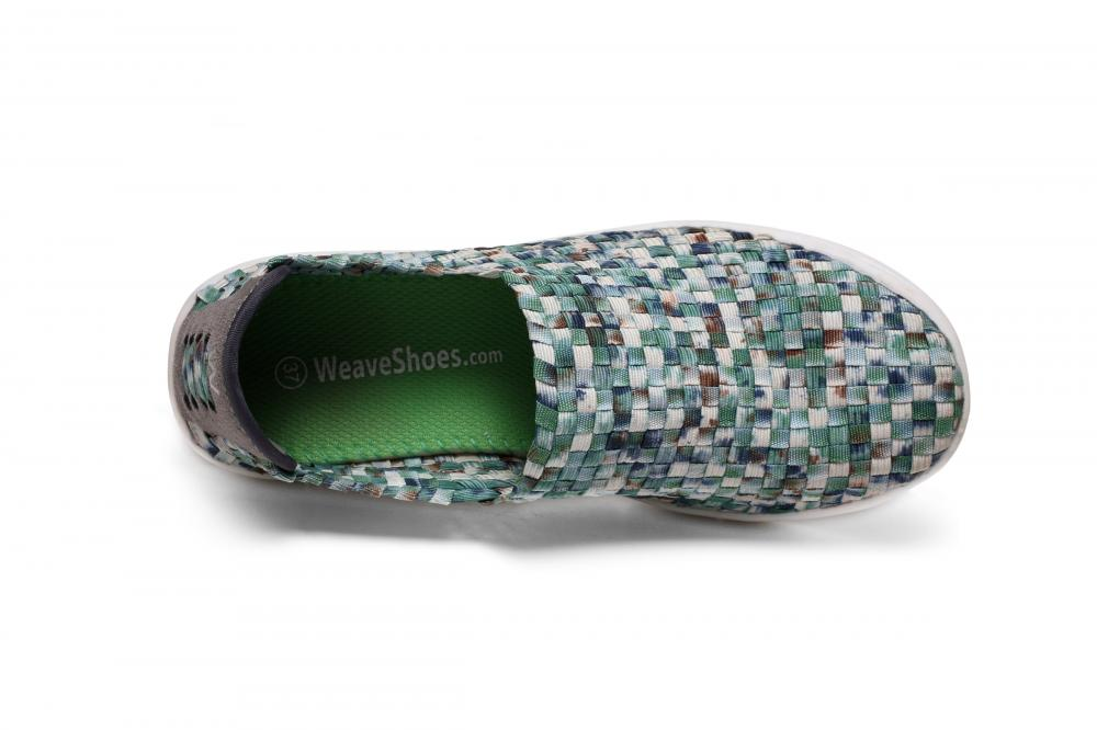 Slip-on Design Woven Loafers