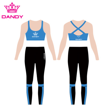 Blandede farger Fitness Long Yoga Leggings