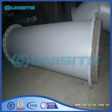 Reasonable price for Flanges Steel Pipe Custom Straight Pipe Exhaust supply to Jamaica Factory