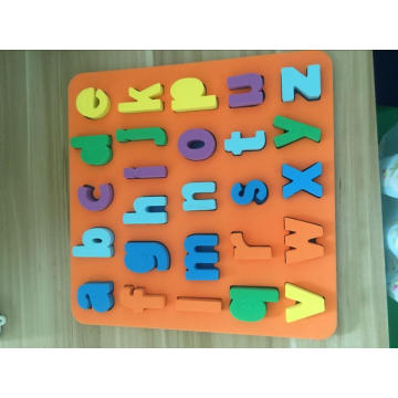 English letters children educational Eva puzzle