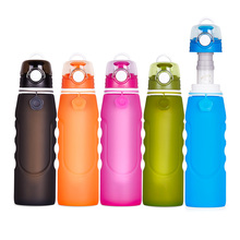Outdoor camping filter silicone water bottles