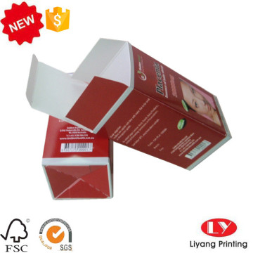 Cheap cosmetic one piece packaging paper box