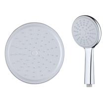 ABS Plastic round bathroom handheld shower head
