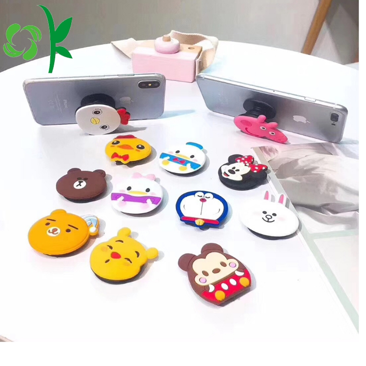 Silicone Cute Phone Holder 5