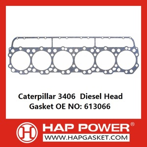 PriceList for for Rubber Sealing Gasket Caterpillar 3406  Diesel Head Gasket OE 613066 supply to United Arab Emirates Importers
