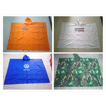 Wholesale Cheap PVC rain cape poncho rain coat