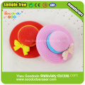 3D colorful retro record CD player shaped eraser