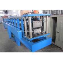Rain water gutter pipe roll forming machine