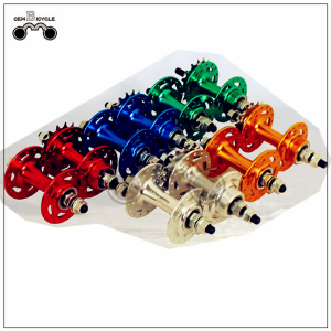 32 holes fixed gear bike aluminum alloy color hub