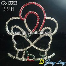 Rhinestone Holiday Pageant Crowns For Sale