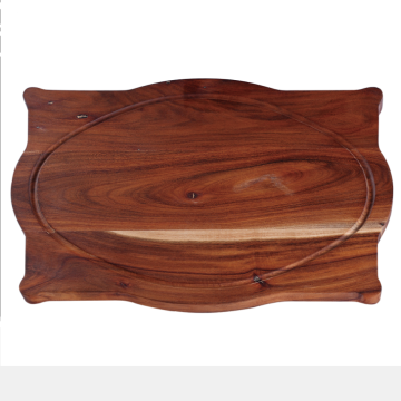 Traditional acacia wood cutting board