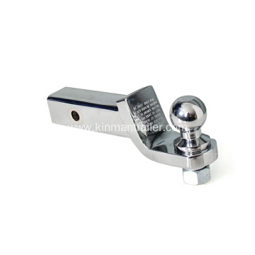 chrome trailer hitch ball mount