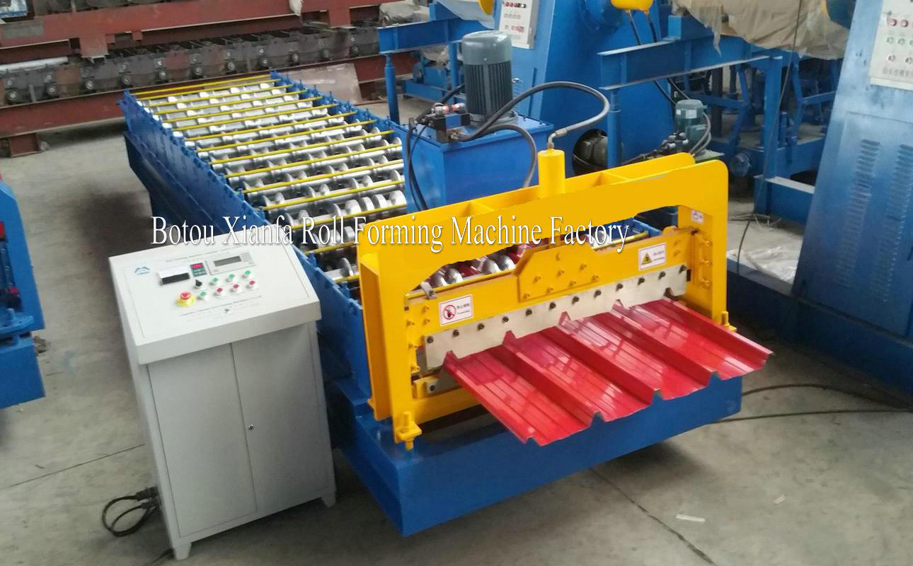IBR panel roll forming machine