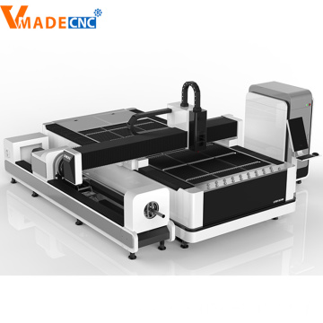 Metal Tube 1500w Fiber Laser Cutting Machine