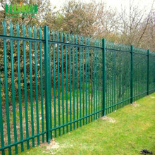 Europe style for High Quality Palisade steel fence Colorful Palisade Fence For Garden Decoration export to Peru Manufacturer