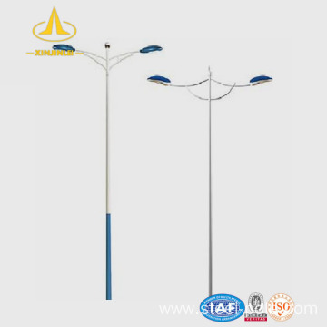 12m octagon galvanized steel lighting pole
