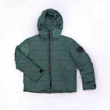 Male`s 100% Polyester down jacket
