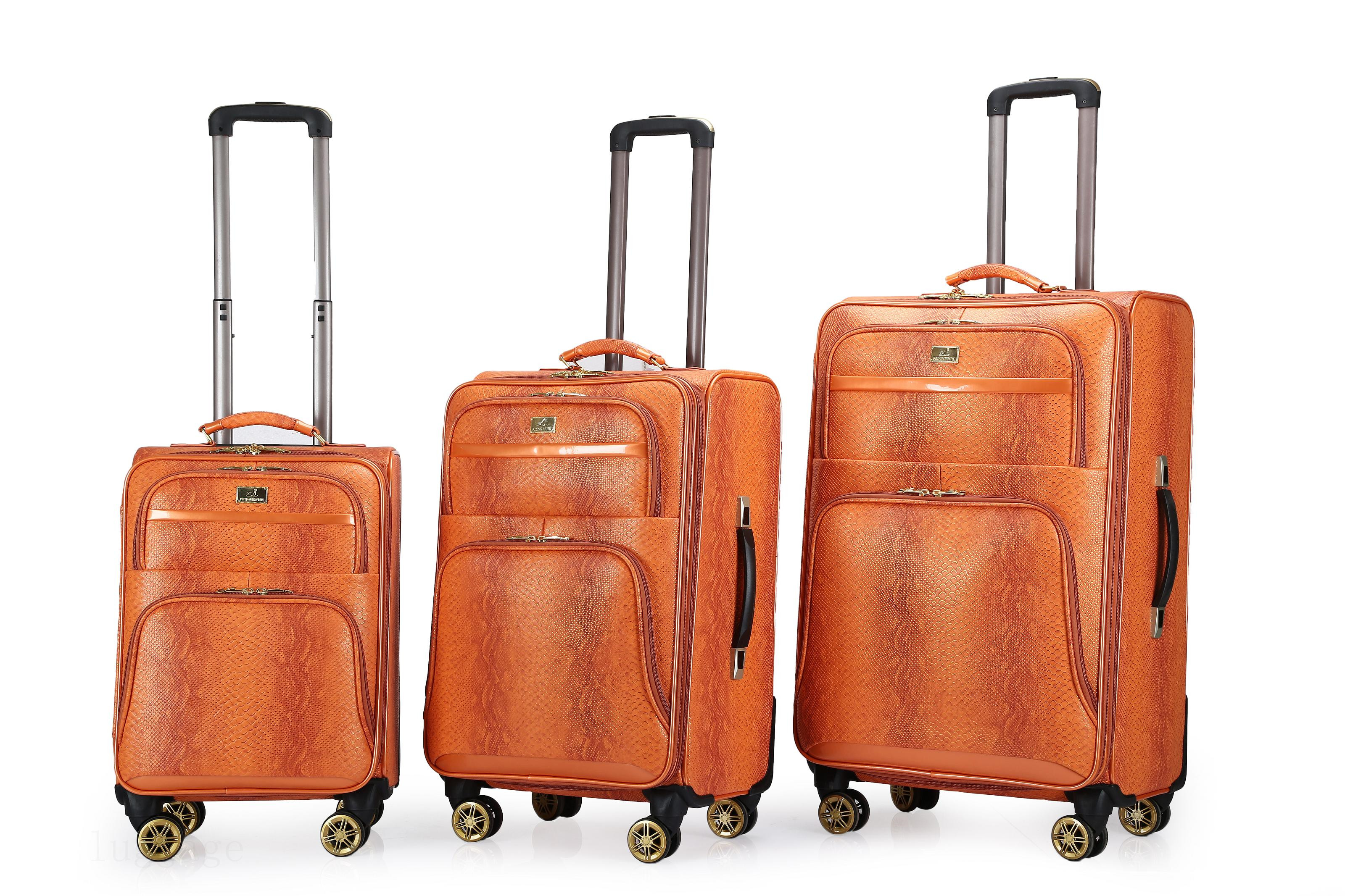 3143#PU luggage