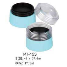 Plastic Round Cosmetic Pot Packaging