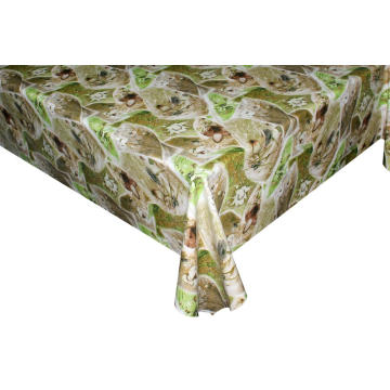 Elegant Tablecloth with Non woven backing Malta
