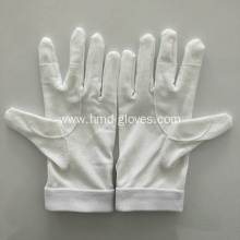 White Military Parade Gloves
