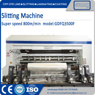 Slitter and rewinder Model GFTW1280C2