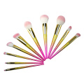 10pc Ombre Makeup Brush Collection