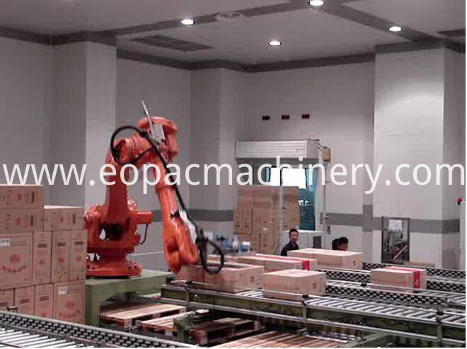Robot Palletizer Pallet Stacking Machine