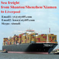 Shantou Special Sea Freight Rate for liverpool