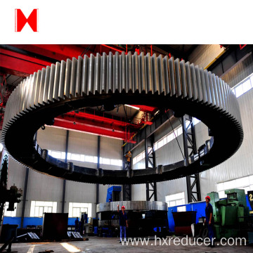 large diameter steel gear