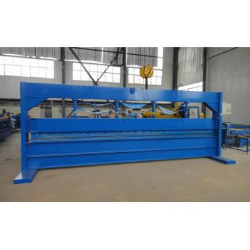 Umshini Osetshenziselwa Ukushiswa Kwensimbi Yamashidi we-Sheet Hydraulic Roof Panel Bing Machine