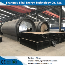 2200*6600 as reactor size pyrolysis plant
