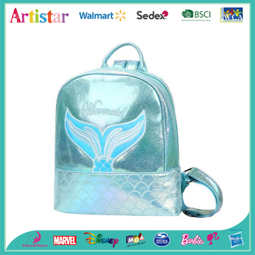 Mermaid blue laser backpack