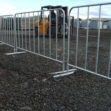 stainless steel construction barricades crowd control