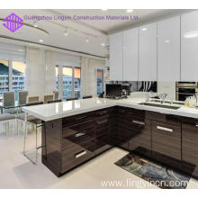 China for China Kitchen Cabinets,High Gloss Kitchen Cabinet,Wooden Kitchen Cabinet Manufacturer Acrylic Kitchen Designs For Small Spaces export to South Korea Suppliers