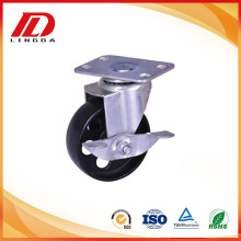 Fast Delivery for 3'' Wheel Plate Caster 3 inch industrial caster with lock supply to Yugoslavia Supplier