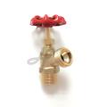 Brass boiler drain valve for Hot water
