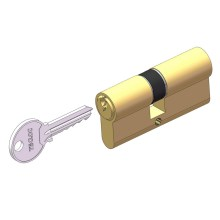 Low Cost for Computer Key Lock Cylinder Master key euro cylinder lock supply to Indonesia Wholesale