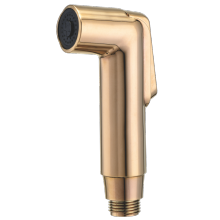 Golden Plastic Brass Toilet Shower Bidet Spray Shattaf