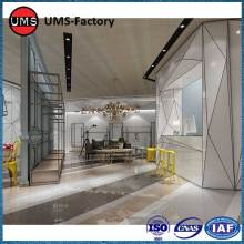 Polished decorative marble tiles living room for sale