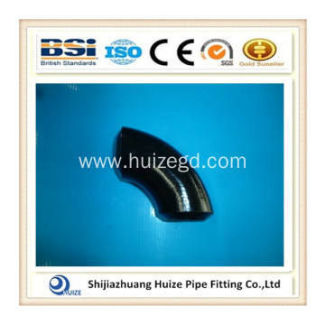 45 degree long radius black steel pipe elbow