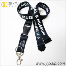 Exhibition Sublimation Printed Logo Cheap Custom Lanyards